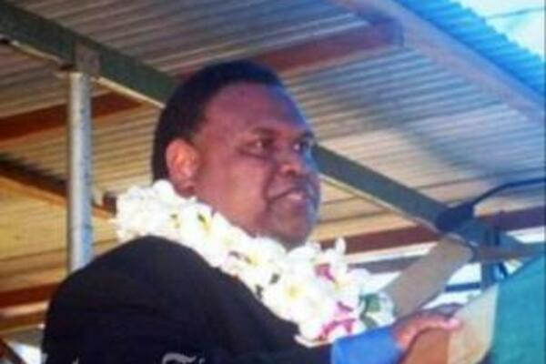 Solomon Islands High Commissioner to Papua New Guinea, H.E Mr. Bernard Bata'ansia