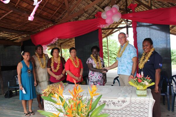 High Commissioner Byrne said the Australian Government is happy to support SIWIBA and its work to empower the women of Solomon Islands.