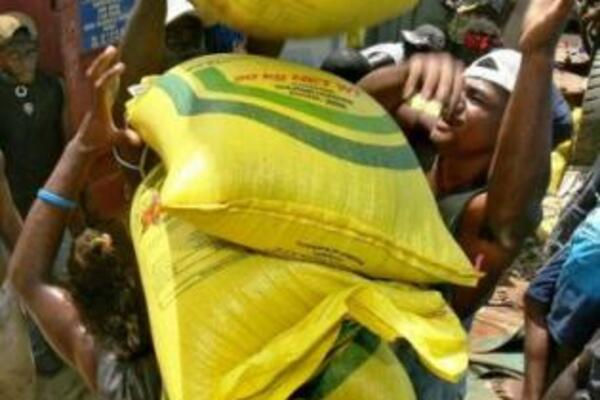 Bags of rice are being shipped in the thousands to villages around the country, with candidates preparing for a sudden influx of supporters.