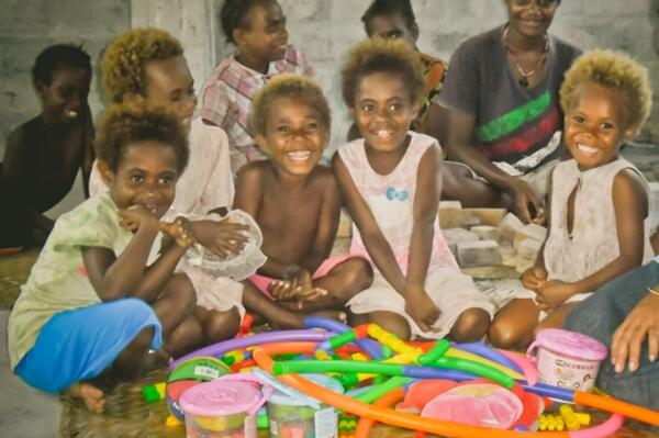 The Child Friendly Space project, set up by World Vision Solomon Islands has helped more than 300 children heal and recover from the emotional and psychological effects of the disaster.