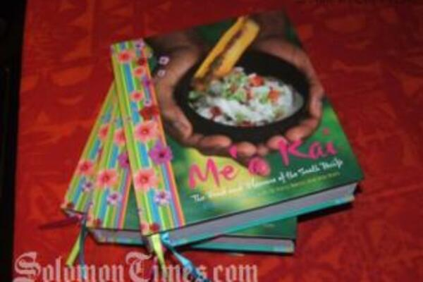 The newly-launched recipe book, Me'a Kai.