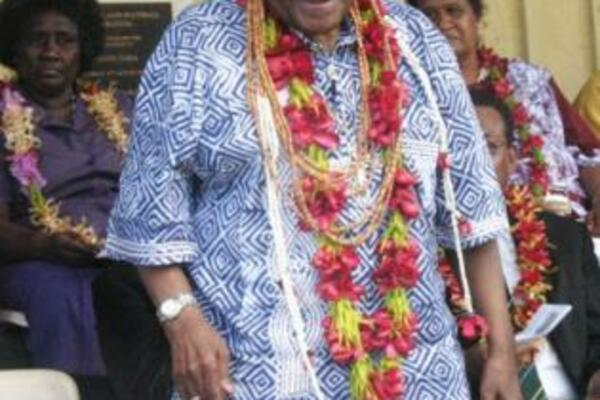 During his stay in Honiara Archbishop Tutu had brought a message of hope and forgiveness to Solomon Islands.