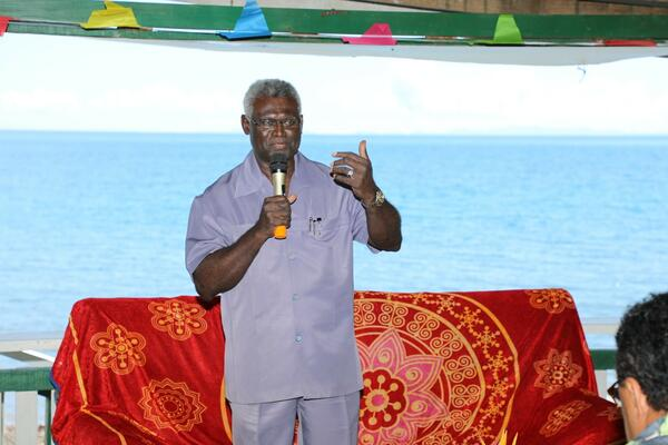 """There is a need for more Solomon Islanders to take part in activities that will contribute to the economic development of the country,"" he said."