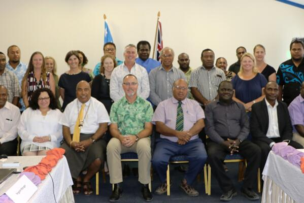 Australian High Commission and Senior Solomon Islands Government officials who attended the High Level Consultation.