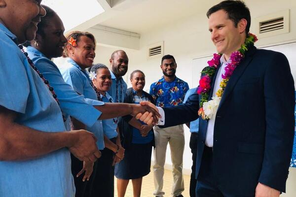 """""""People are at the heart of Australia's partnerships in the Pacific. Greater economic integration will bring people closer together, underpin recovery, and build a region that is more stable, prosperous and secure – for all of us."""""""
