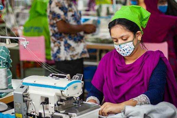 Women tend to be heavily employed in vulnerable sectors such as retail, restaurants and hospitality. They also often work in informal jobs, from selling wares on the streets to sewing at home, that lack protections such as paid sick leave or unemployment insurance. When those jobs disappeared, women had no social safety net to fall back on.