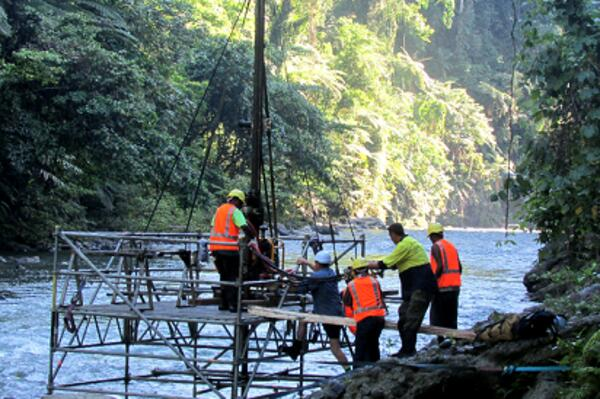 Australia is funding the construction of a 22km transmission system to deliver renewable energy generated by the Tina River Hydropower Project to Honiara.