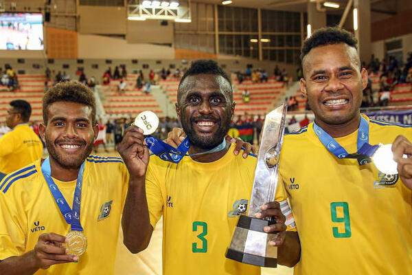 Solomon Islands have long been the undisputed kings of futsal in Oceania. Since Australia joined the Asian Football Confederation, the Kurukuru have qualified for three FIFA Futsal World Cups.