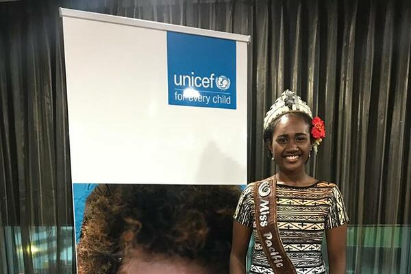 """I am very honoured and pleased to accept UNICEF's invitation to serve as Youth Advocate in PNG. This is a role that more and more young people are taking up around the world to support UNICEF's work to advance the rights of children and young people and I am privileged to be the first Papua New Guinean to officially take up this role."""