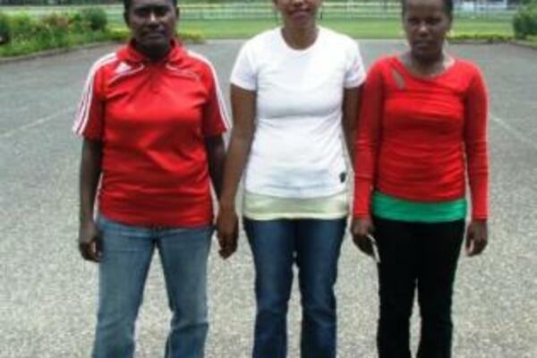 The young referees hope that their trip to the OFC U-20 Women's Championship will help to build the profile of women referees in Solomon Islands and attract more young women to take up refereeing.