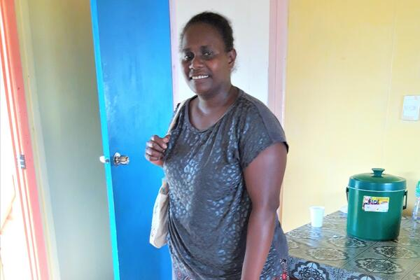 Upon her return to Tulagi, Aziel says she will be continuing with her sewing business.