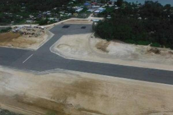 Initial development work began in 2012, bringing the former World War Two runway up to international standard.