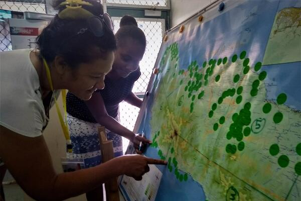 """We have covered more than 50 percent of the areas on Guadalcanal and only a few more communities within the wards are to be covered"", Denty said."
