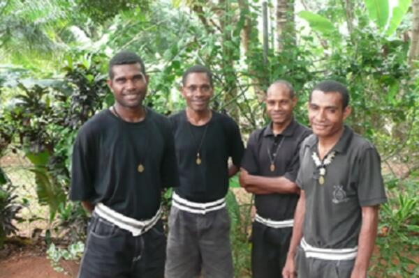 The Melanesian Brotherhood are an Anglican religious community based primarily on the Solomon Islands, but which is expanding into other parts of the world. It was founded in in 1900 by a Ini Kopuria, a Solomon Islander on the Island of Guadalcanal.
