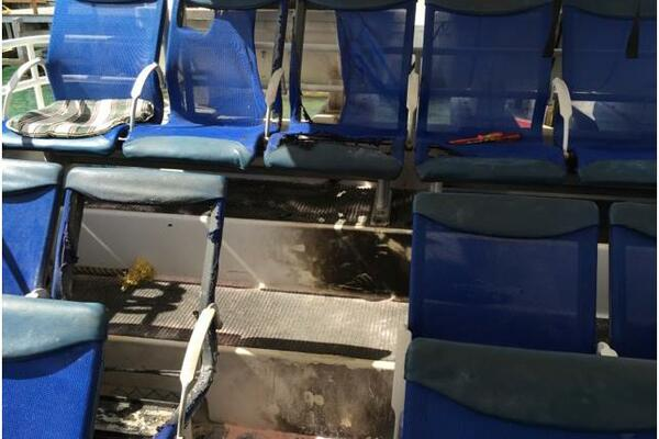 It is understood the armed thugs targeted the boat used by MPs of the Democratic Coalition for Change (DCC), who were staying at the resort at the eve of the prime ministers election.