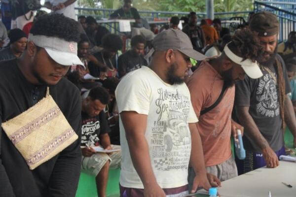 Hundreds of hopeful applicants are in Honiara, going through interviews, paying fees for medical clearance and putting together other required documents.