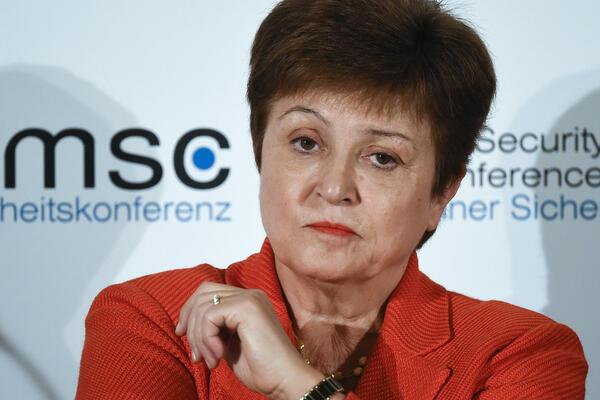 Kristalina Georgieva, managing director of the International Monetary Fund (IMF).