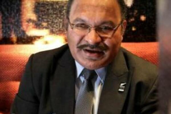 PNG PM Peter O'Neill says military mutiny is over.
